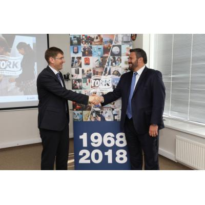 Торговая марка Tork компании Essity отмечает 50-летний юбилей