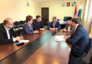 Д.Г.Новиков посетил столицу БАМа