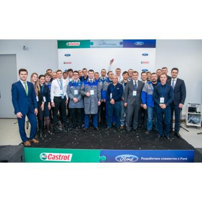 Castrol и Ford подвели итоги конкурса «Лучший механик Ford 2018»