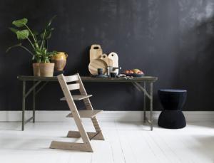 Новая лимитированная серия стульчиков Tripp Trapp из ясеня: еще ближе к природе