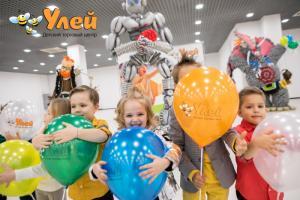 В честь открытия в Детском торговом центре «Улей» состоялся большой праздник