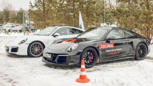 Race-taxi от Порше Центр Таганка в Конаково: зимний экстремальный тест-драйв для любителей скорости
