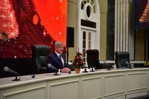 Новогоднее поздравление руководителя Департамента градостроительной политики города Москвы Сергея Лёвкина