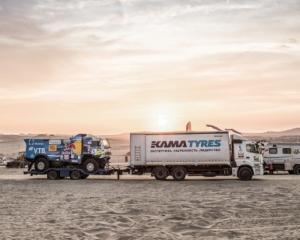 Продукция KAMA TYRES уверенно преодолела все этапы перуанской трассы