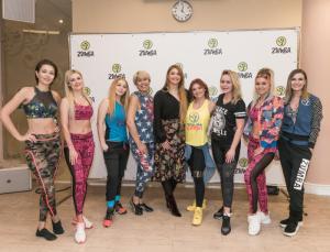 5 февраля в Москве в GalaDance Смоленский Пассаж прошла первая закрытая тренировка Zumba с Натальей Булл, официальным представителем Zumba на территории России