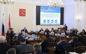 Депутат Госдумы Михаил Романов принял участие в заседании Правительства Санкт-Петербурга