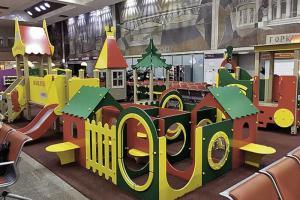 Новые детские площадки на вокзалах России появились в конце прошлого года