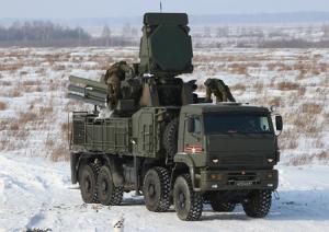 Расчёты ракетно-пушечных комплексов «Панцирь» на Камчатке провели практические стрельбы по низколетящим целям