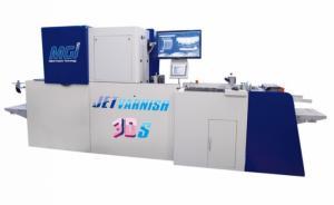 Благодаря системе облагораживания отпечатков MGI JETvarnish типография Laballery сможет создавать яркие, нестандартные материалы