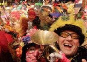 Во Франции можно побывать на карнавале, несмотря на Великий пост