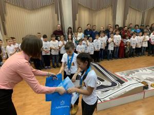 Роботехнические соревнования программы «РобоНикель» прошли в Чите