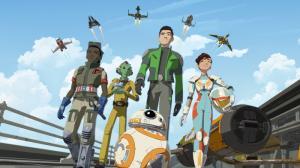 Канал Disney представляет премьеру анимационного сериала «Звёздные Войны: Сопротивление»!