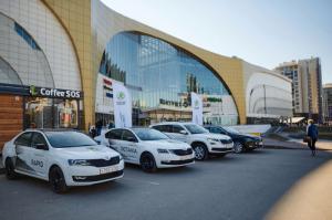 Жители Петербурга протестировали возможности автомобилей SKODA