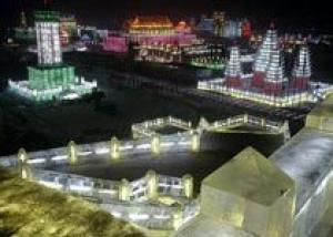 21-й Харбинский фестиваль снежных скульптур посетили четверть миллиона человек
