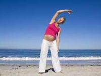 Приучить детей к спорту можно еще во время беременности