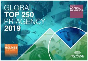 Pro-Vision Communications в топе крупнейших PR-агентств мира