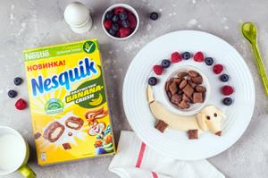 Встречайте шоколадно-банановое утро: новые подушечки Nesquik Banana Crush