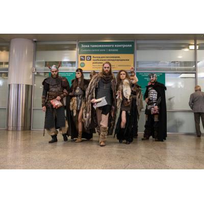 Пассажиры сообщают: в аэропорту «Шереметьево» замечены викинги