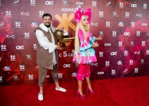 Заводная кукла в исполнении Русской Барби Тани Тузовой в Баку