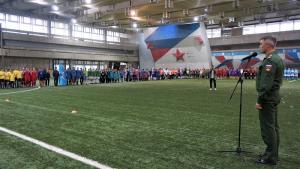 В Москве прошел 2-ой Межведомственный кадетский футбольный турнир