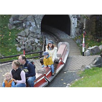 Детский парк Паровоза в Швейцарии празднует свое двадцатилетие