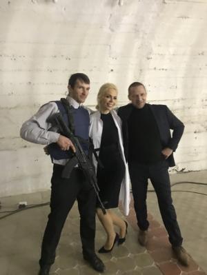 Бизнесвумен Алиса Лобанова сыграла роль в шпионском боевике Герой»