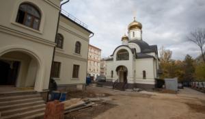 До конца октября на севере столицы введут в строй храмовый комплекс св. царственных страстотерпцев