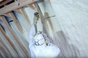 Утепление ППУ крыш и зданий из профнастила