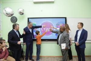 Третья международная онлайн-олимпиада по математике BRICSMATH.COM торжественно открылась в Школе №57 в г. Москве