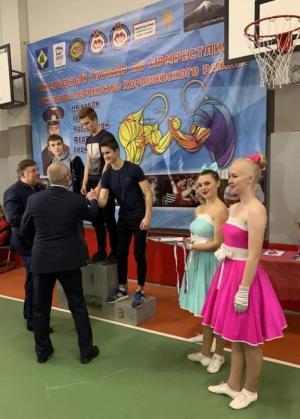 Праздник спорта состоялся в рамках открытого первенства по армрестлингу в Хорошевском районе Москвы