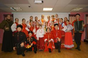 Ансамбль воспитанников фонда «Полярный лис» дал первый концерт