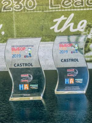 Castrol получил две награды по итогам опроса независимых станций технического обслуживания