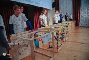 Более 200 школьников состязались в создании машин Голдберга в Ставрополе