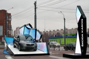 Дилеры SKODA в Петербурге собрали более 200 заявок на тест-драйв SKODA KAROQ