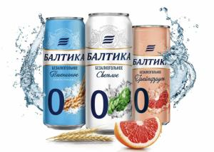 «Балтика 0» меняется: на полках появились банки в новом дизайне