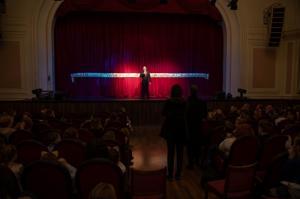 Михаил Романов ответил на вопросы жителей Фрунзенского района в ДК Железнодорожников