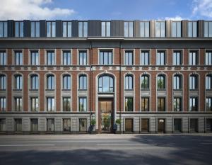 Ведется монтаж фасадов и инженерных систем Собрания клубных домов ORDYNKA