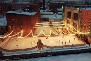 Самые популярные катки у туристов в Петербурге этой зимой