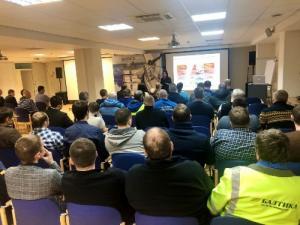 О правилах безопасного вождения рассказали сотрудникам «Балтики-Новосибирск» эксперты ГИБДД