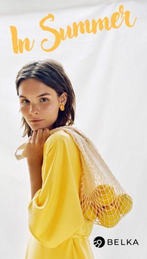 Петербургский бренд одежды BELKA предлагает примерить романтику лета с новой коллекцией In Summer