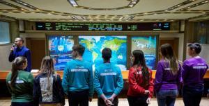 Участники программы «Дежурный по планете» посетили ЦУП