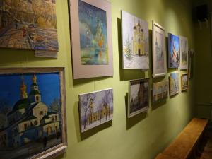 В Москве открылась выставка арт-проекта «Памятные места и храмы Александра Невского»
