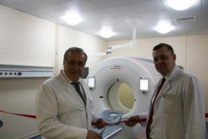 Первый в России компьютерный томограф SOMATOM Drive из линейки двухтрубочных систем экспертного класса