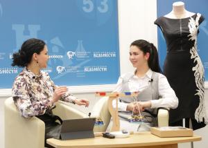 Программа «Бизнес и творчество» провела первый выездной эфир в Великом Новгороде