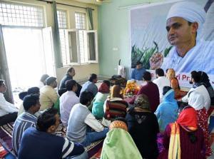 Молитва в Индии в знак солидарности с индуистами России, страдающими от преследований Александра Дворкина
