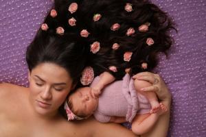 Как делают фотографии новорожденных