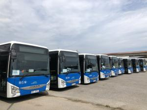 IVECO BUS передала 145 автобусов Crossway транспортной компании ARRIVA в Чешской Республике
