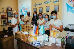 Костанай получил гуманитарную помощь из Екатеринбурга