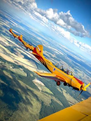 Пилотажная группа «Первый Полет» и ОАО «Стерлитамакский нефтехимический завод» объявляют о партнерстве