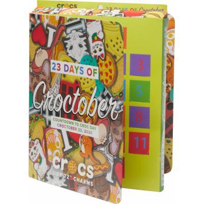 Crocs отмечает кроктябрь выпуском Jibbitz™ календаря